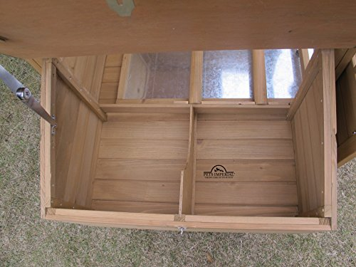 Pets Imperial® Devonshire Large Chicken Coop Hen House Ark Poultry Run Nest Rabbit Hutch Box Suitable For Up To 4 Birds – Integrated Run & Cleaning Tray & Innovative Locking Mechanism - 5