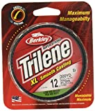 Berkley Trilene XL Smooth Casting Monofilament Service Spools (XLFS14-22), 300 Yd, pound test 14 - Low-Vis Green