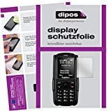 dipos I 2X Schutzfolie klar kompatibel mit RugGear RG129 Folie Bildschirmschutzfolie