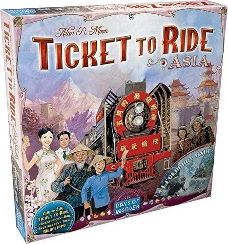 Asterion 8501 - Ticket To Ride Asia, Edizione Italiana