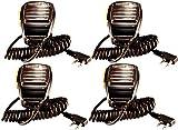 Arcshell Shoulder Speaker Mic for Arcshell AR-5 Walkie Talkie 4 Pack