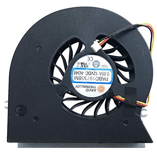 Lüfter Kühler Fan Cooler kompatibel für MSI GT72, GT72 2PC Dominator, GT72 2PE, GT72 2PE Dominator Pro, GT72 2QD, GT72 2QD Dominator, GT72 2QE, GT72 2QE Dominator Pro