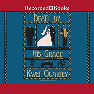 Death by His Grace audiobook cover art
