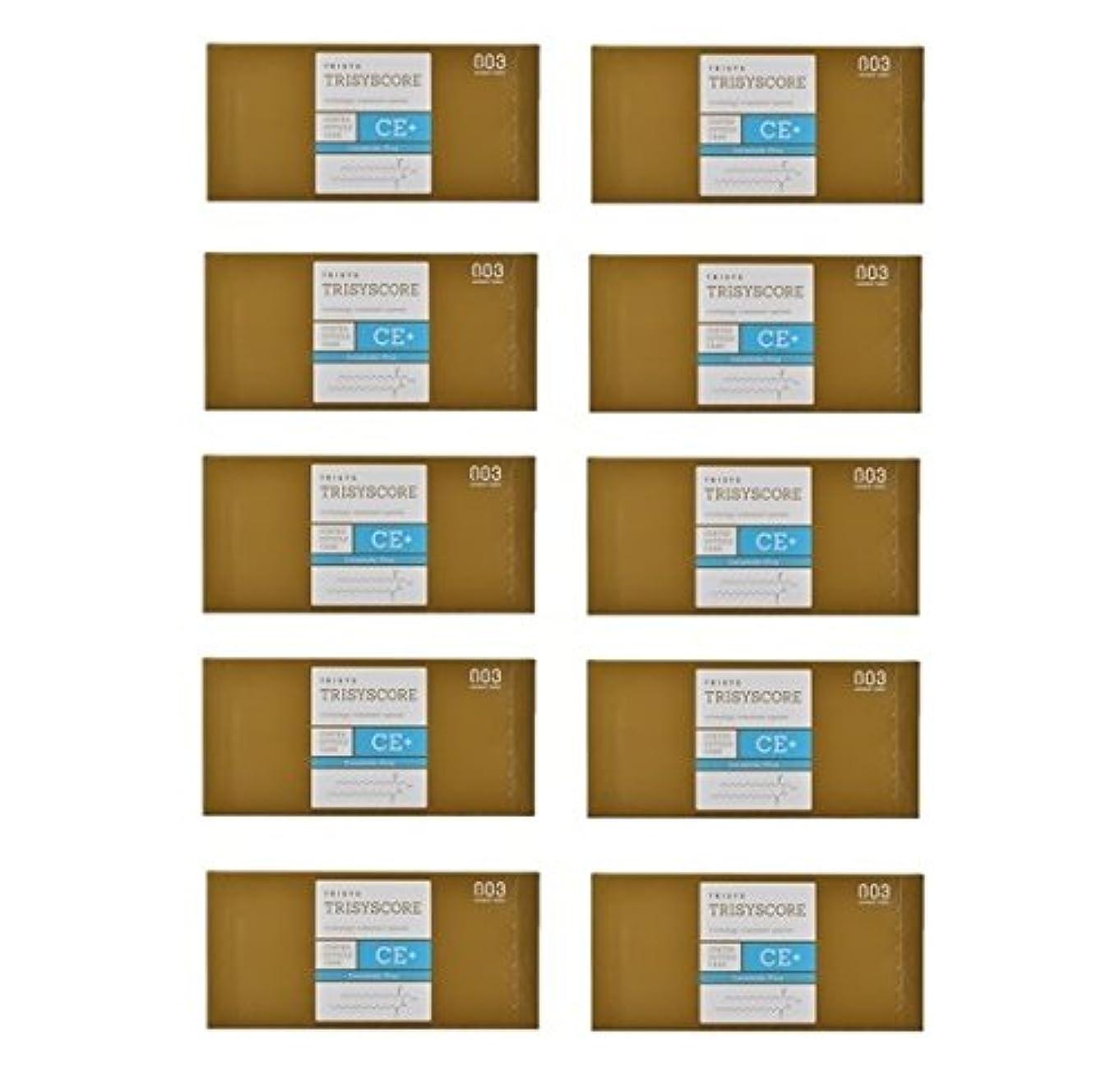 カジュアル石鹸パンサー【X10個セット】ナンバースリー トリシスコア CEプラス (ヘアトリートメント) 12g × 4包入り