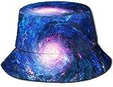 Sombrero de Cubo de Viaje con Estampado de Orion Unisex, Gorra de Pescador de Verano, Sombrero para el Sol, Cielo Estrellado de ensueño