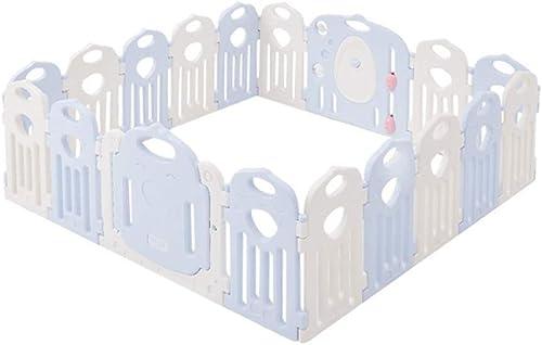 Größer Babylaufstall - Babyschutzzaun - Raumteiler Kindersicherheitsbarriere - Aktivit zentrum Für Kinderspiele