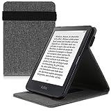kwmobile Funda Compatible con e-Reader Kobo Clara HD - Carcasa de Tela para Lector electrónico Textil