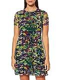 Desigual Vest_ANN Vestido Casual, Verde, XL para Mujer