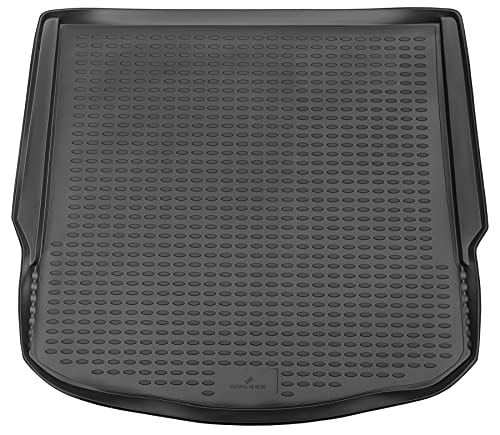 Walser Cubeta de Maletero a Medida XTR Compatible con Ford Mondeo IV (BA7) año 03/2007-01/2015, Alfombra Maletero, Bandeja Maletero