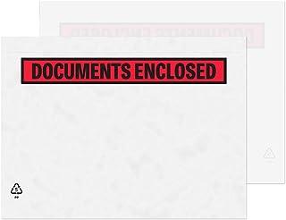 Blake rent Packaging C5 235 x 175 mm tryckta dokument bifogade plånbok kuvert skala och försegla (PDE42) genomskinlig – pa...