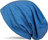 styleBREAKER Klassische Slouch Beanie Mütze, leicht, Unisex 04024018, Farbe:Blau...