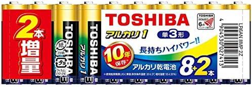 東芝アルカリ乾電池ANシリーズ&Zシリーズ