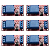 6Pcs DC 5V 1 Channel Relay Module Board Shield with Optocoupler Isolation Support High/Low Level Trigger