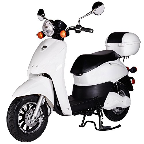Rolektro Retro Light 40 Elektrische scooter, 1200 W, 60 km bereik, maximumsnelheid 40 km/u, scooter