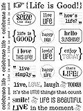 SRM Stickers Sticker Sentiment Life is Good
