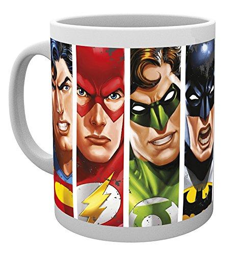 GB Eye LTD, DC Comics, Liga de la Justicia Caras, Taza