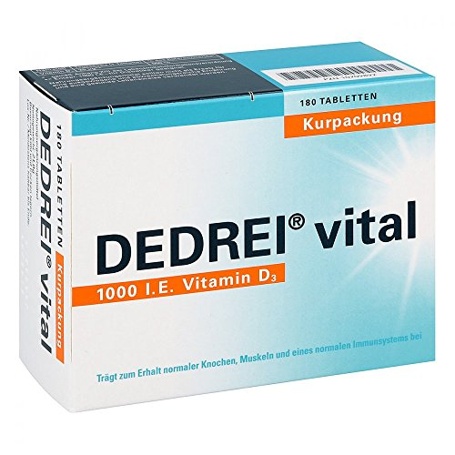 DEDREI vital, 180 St. Tabletten