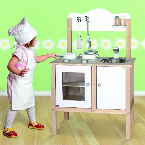 Viga Toys - Kinderküche - Weiß
