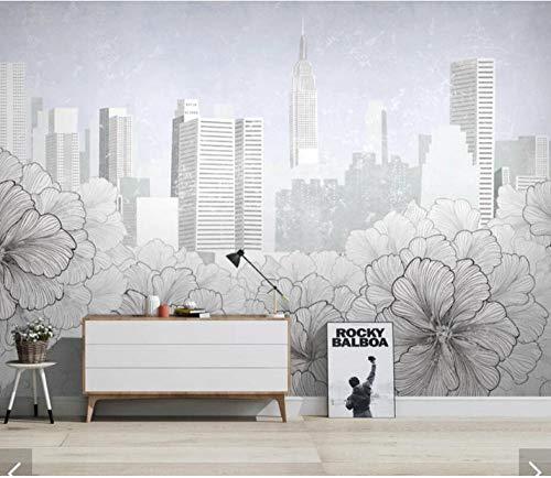 Wuyii Gepersonaliseerde libelle Lotus Mural behang Eurpoean vintage groot fotobehang olieverfschilderij druk sticker muurkunst behang 280 x 200 cm.