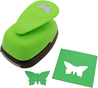 Bira 2 inch Butterfly Lever Action Craft Punch for Paper Crafting Scrapbooking Cards Arts