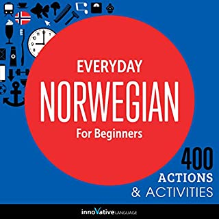 Everyday Norwegian for Beginners - 400 Actions & Activities audiobook cover art