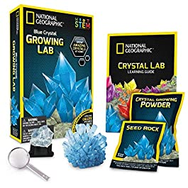 NATIONAL GEOGRAPHIC Crystal Growing Lab – DIY Crystal Creation