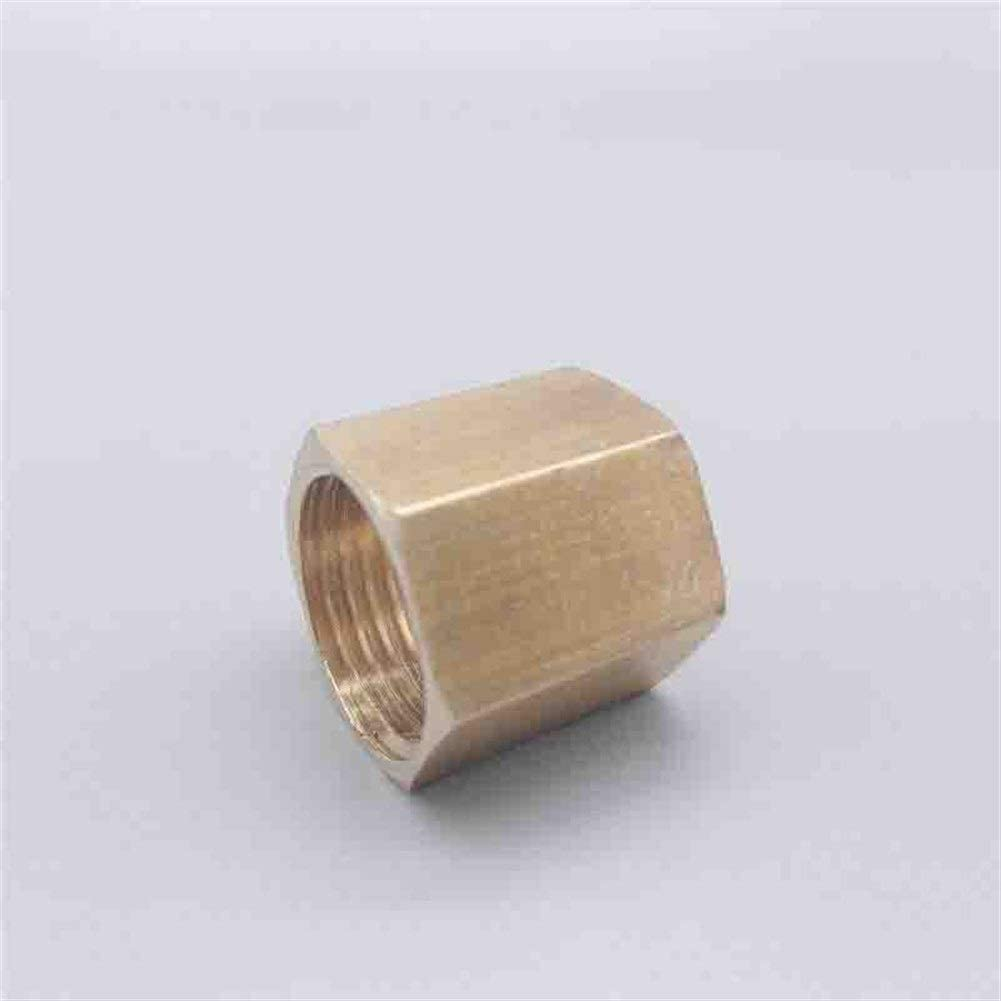 YXZQ Plumbing Tools 10pcs Copper Free shipping Hex 1 year warranty Coupling Hose Fitting Pipe