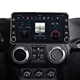 ZWNAV 11.8 inch 1080P Android Car Radio for Jeep Wrangler JK 2011-2017 Stereo Multimedia Player Cassette Recorder GPS Navigation Electronics Head Unit PX6 Wireless Carplay DSP Video HD Display