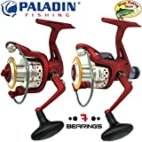 Paladin Big Bull Pro Spinrolle FD & RD - Spin Rolle/Angelrolle/Stationärrolle - 1000 bis 6000 mit...