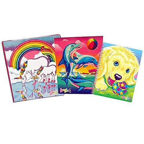 Lisa Frank 30th Anniversary 12-Pack Binder, Spiral Notebook & Folder Set (Multicolor)