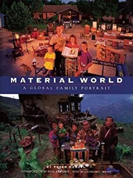 Paperback Material World: A Global Family Portrait Book