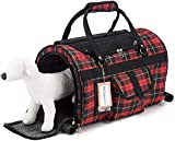 Prefer Pets Hideaway Pet Airline Approved Travel Carrier Duffel Bag & Backpack Helps Reduce Pet's Fear & Anxiety