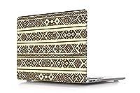 Bodazhong MacBook Pro13インチケース2012-2015リリース A1425/A1502、プラスチックハードケースシェルカバー互換性のあるMacBook Pro 13インチRetinaディスプレイ(CD-ROM/タッチなし) (ゴールデンシリーズ A 23)