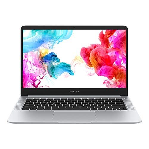 Huawei Matebook D - Ordenador portátil ultrafino 14' FullHD (AMD Ryzen R5-2500, 8GB RAM, 256GB SSD, AMD Vega 8, Windows 10) Plata - Teclado QWERTY Español