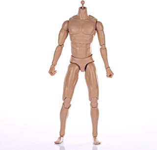 ZYAQ 1/6 Scale Narrow Shoulder Action Figure Male Muscular Body Toys Doll with Accessories fits TTM18 TTM19 Hot Toys