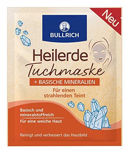 Bullrich Heilerde Tuchmaske Basische Mineralien, 20 g