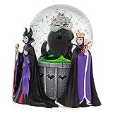 Disney, Figuras y Bola de Cristal de villanas, para coleccionar, Enesco