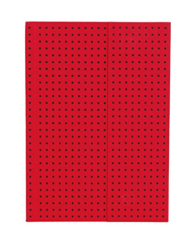 ペーパーオー ノート Red on Black A6 罫線 OH9026-7