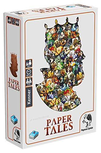 Pegasus Spiele 57307G - Paper Tales (Frosted Games)