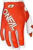 Oneal Mayhem 0385-450 - Guanti da motocross a due facce, taglia L, Uomo, Arancione, M