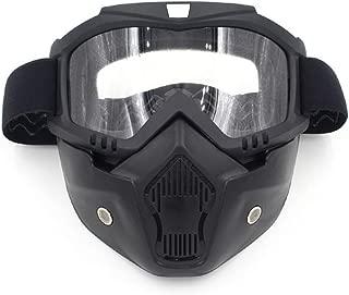 GTJXEY Gafas de esquí - Máscara Hombres Mujeres Snowboard del esquí Gafas Gafas UV400 Anti-Niebla de Motos de Nieve Esquí Gafas de Sol Gafas de Motocross MX ATV