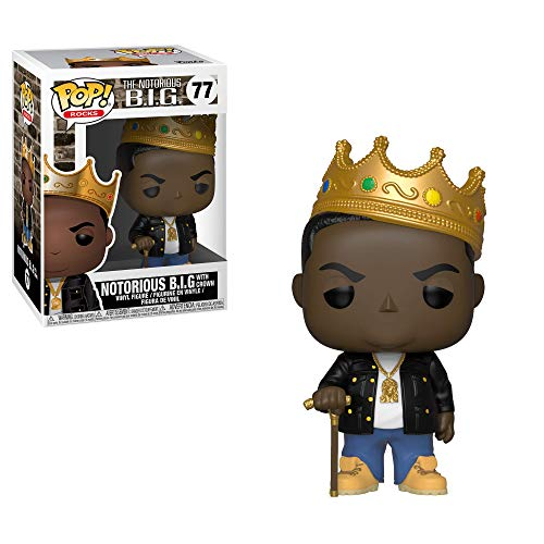 Funko 31550 POP Vinyl: Rocks: Notorious B.I.G. Crown