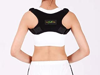 Back Straightener Posture Corrector for Women and Men – Adjustable Clavicle Brace and Upper Back Support for Pain Relief from Slouching and Rounded Shoulders – Can Be Worn Under Clothes
