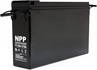 NPP FT12-180Ah Front Access Deep Cycle Solar Energy Power 12V 180 Ah Telecom UPS Battery with Button Style Terminals