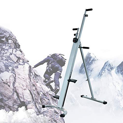 ZhiLianZhao Stepper Vertical Climber Simulation Klettermaschine, Stepper Climber Ausdauertraining Geräte, Maximale Belastung 150 Kg für Ganzkörpertraining