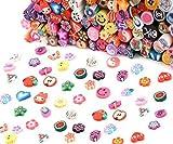 YESURPRISE 100 pcs 3D Nailart Sticker FIMO Stange Nail Art Nagel Handy Dekoration DIY
