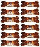 The Wild Bone Company Bone, 1 Ounce Each, Jerky Style Dog Treat Made in The USA (Rabbit Bone Stew, 12 Count)