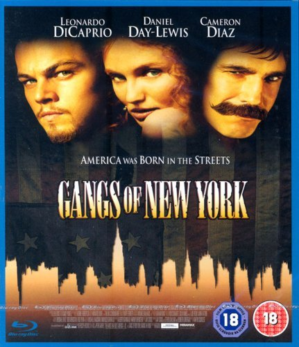 ENTERTAINMENT IN VIDEO Gangs Of New York [BLU-RAY]