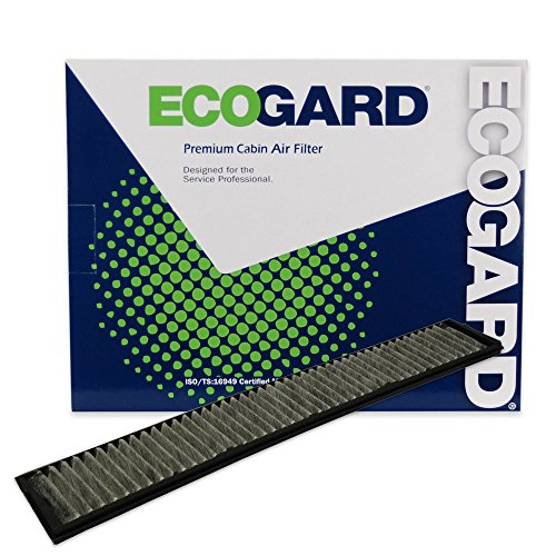 ECOGARD XC15510C Premium Cabin Air Filter with Activated Carbon Odor Eliminator Fits BMW X3 2004-2010, 325i 2001-2005, 325Ci 2001-2006, 330Ci 2001-2005, 325xi 2001-2005, 330i 2001-2005