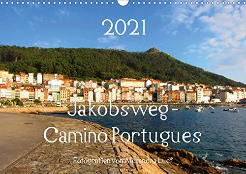 Jakobsweg - Camino Portugues (Wandkalender 2021 DIN A3 quer)